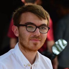portrait photograph of Oliver Monks
