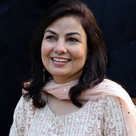 portrait photograph of Shehla Arifeen