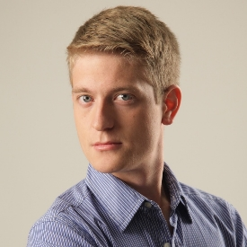 portrait photograph of Tobias Mahrer