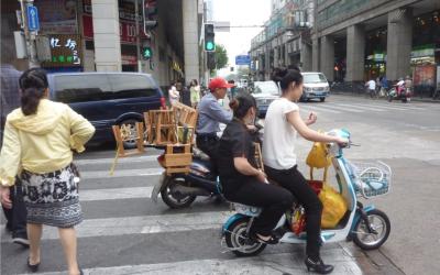 Four Scenarios of Future Urban E-mobility in China