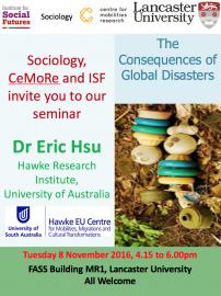Poster seminar Eric Hsu