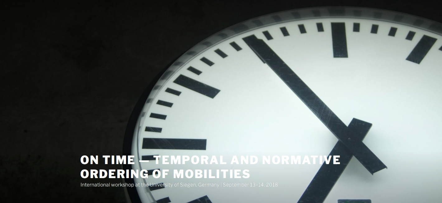 About time: Mobilities Transformation
