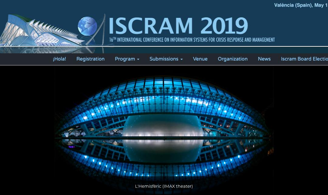 Making IT personal: Monika Buscher and Lixiong Chen at ISCRAM 2019