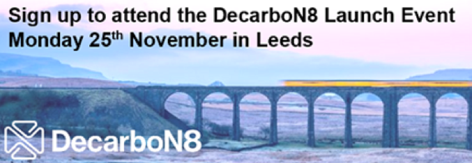 DecarboN8 Network Launch 25th November 2019