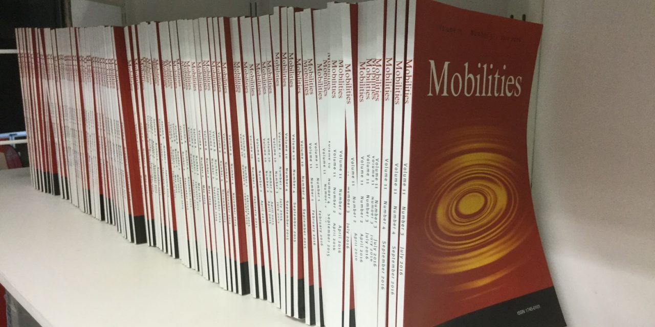 Mobilities: June 2020 Issue  3