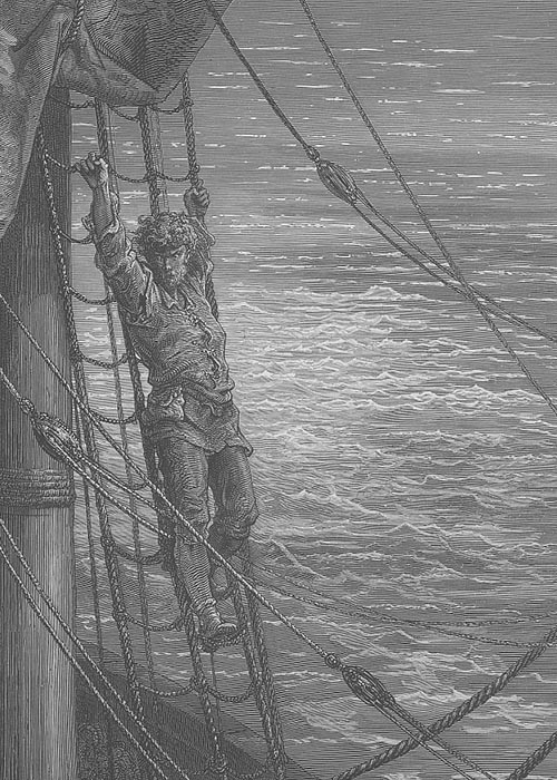 A Dore illustration from The Rime of the Ancient Mariner