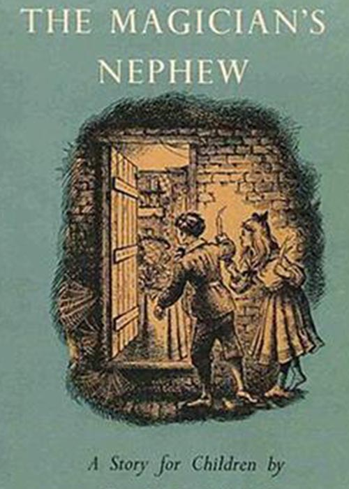 Cover of the first edition of The Magician's Nephew