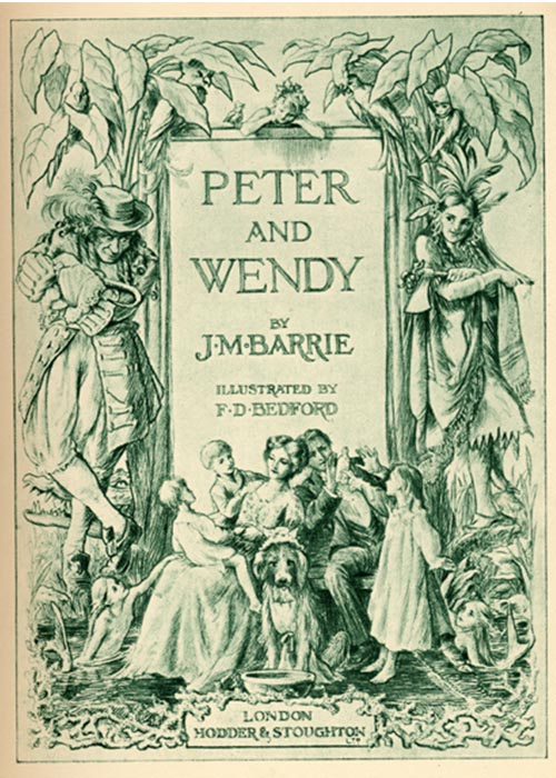 Illustration from Peter and Wendy