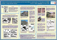 Poster thumbnail for 'Paleoenvironmental reconstructions on the Cerro Blanco subcomplex of Nevados de Chill�n volcano, using volcanic facies'