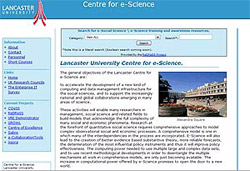 Lancaster University Centre for e-Science