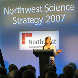 Kirsty Wark praised InfoLab21 as an example of good science infrastructure in the region