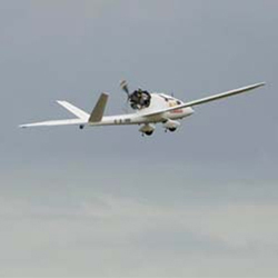 Herti UAV, an autonomous airborne craft, courtesy of BAE Systems