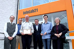 Dr Simon Lock, Dr Joe Finney, Prof Gordon Blair, Dr Andrew Sithers, Paul Clark, Prof Mary Smyth