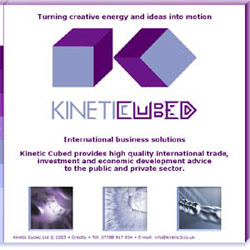 Kinetic Cubed