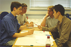 Students on the 2005 Headstart course