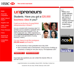 www.unipreneurs.hsbc.co.uk