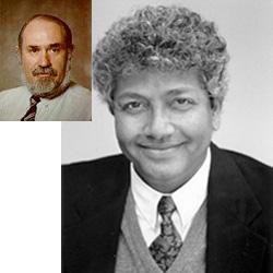Prof. Mahadev Satyanarayanan (Inset - Prof. Doug Shepherd)