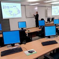 A training room at ICT Focus