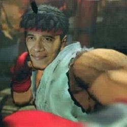 Obama Street Fighter