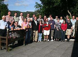 Delegates at the 2009 workshop
