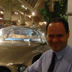 Dr Plamen Angelov on a visit to the Henry Ford Museum in the US