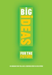 Big Ideas for the Future explores the excellent research taking place in UK higher education and what it will mean for us in 20 years time