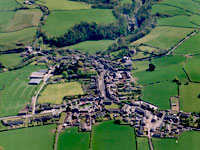 The village of Wray in Lancashire