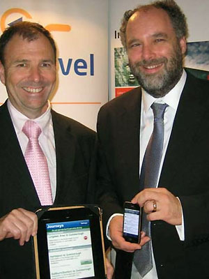 John Walden of In Touch and Professor Nigel Davies