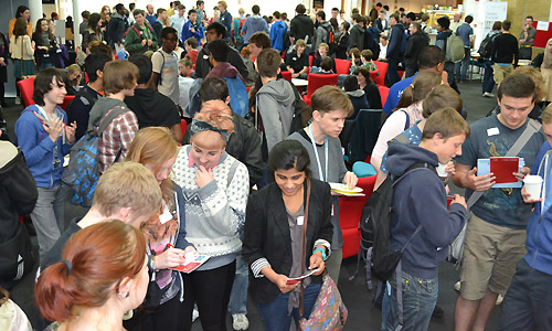 More than 220 students from 12 North West schools attended our Science and Technology Taster Day