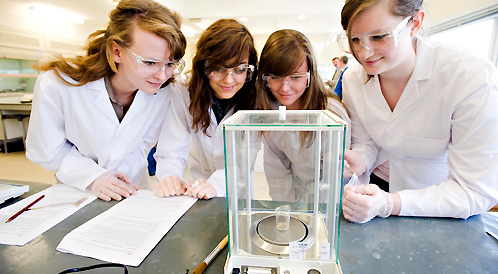 Pupils at the Science and Technology Taster Day