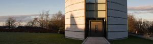 The Ruskin Library at Lancaster University, photographed by Christian Cable.