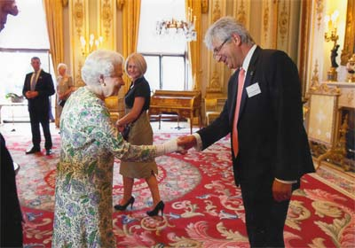 Her Majesty The Queen congratulates Professor Garik Markarian