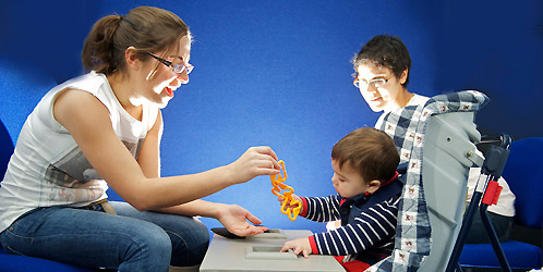 Cognitive development research at Lancaster University's Babylab