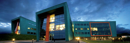 InfoLab21, home of Lancaster University's School of Computing and Communications (Image copyright Paul Cooper Photography 2008)