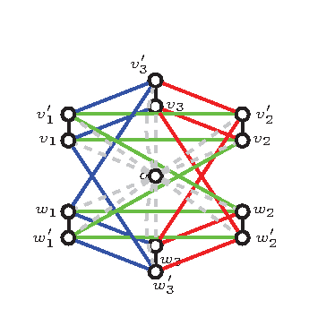 The underlying graph of a 3-dimensional isostatic framework. (Courtesy of Derek Kitson)