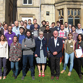 The PROMIS partners gathered at the First PROMIS Workshop at Kenwood Hall, Sheffield