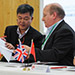 Eight Chinese and UK businesses sign international R&D agreements at Lancaster University