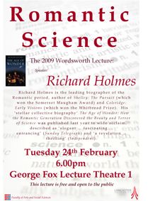 Richard Holmes Lecture