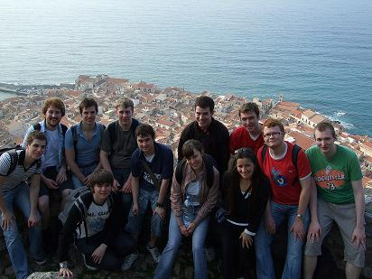 Special Subject students at Cefalu