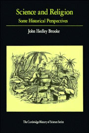 Science and Religion by John Hedley Brooke