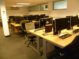 Sample layout of Computer Lab (A001c)