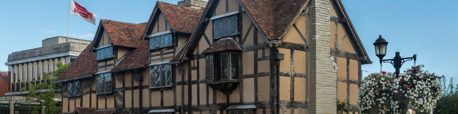Shakespeare's home, Stratford-upon-avon