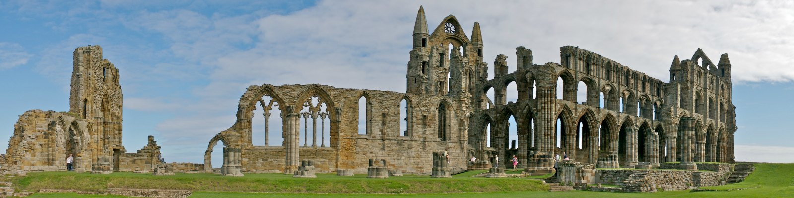 Whitby Abbey, the setting for Bram Stoker's Dracula