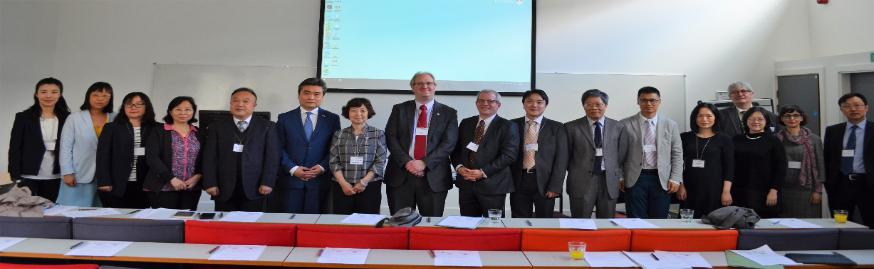 Staff, VIPs and Visitors for the UK-China Law forum