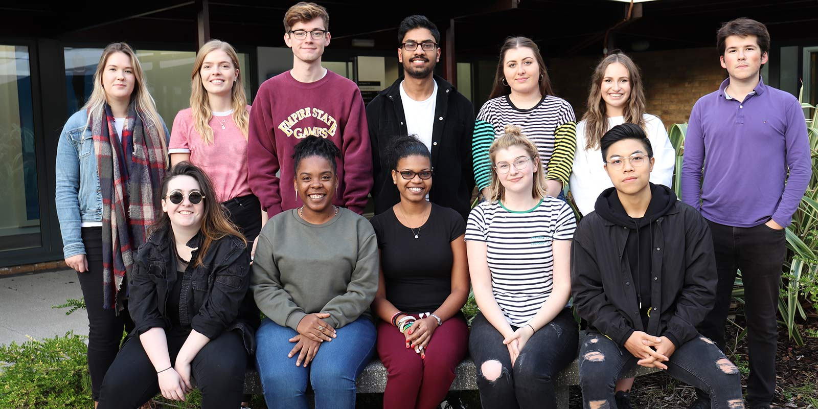 Lancaster's student digital ambassadors from 2018