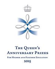Queen's Anniversary Prize logo