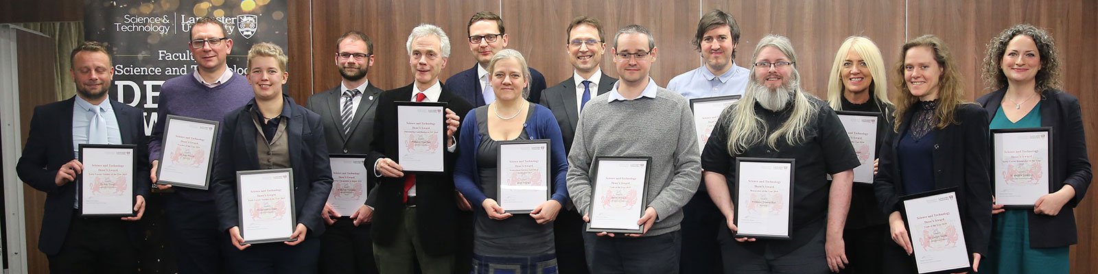 2019 Winners of the Dean's Award
