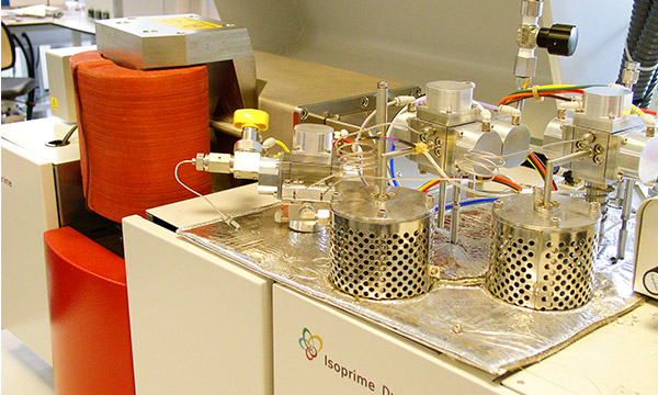 The stable isotope ratio mass spectrometer