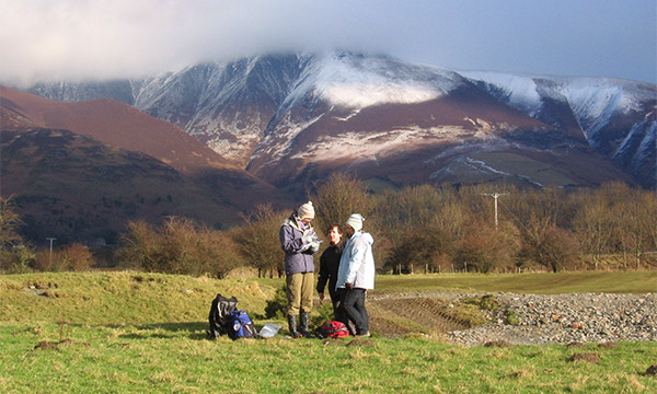 LEC fieldwork in nearby Keswick