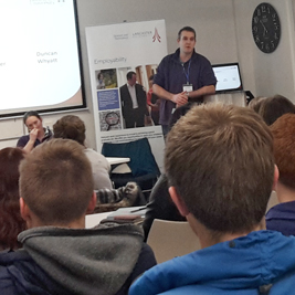 A lecture from Lancaster's careers service